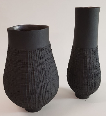 Coiled-Woven-Basalt-Vessels