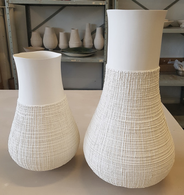 Coiled-Woven-Porcelain-Vessels