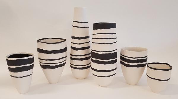 Striped-Porcelain-Vessels