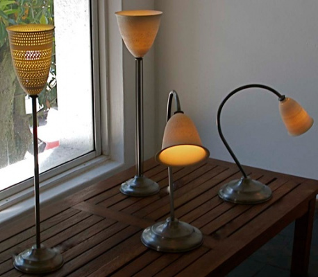 Desk-Lamps-with-Pierced-and-Slip-trailed-Porcelain-Shades