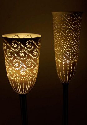 Lights-Pierced-Porcelain-Shades